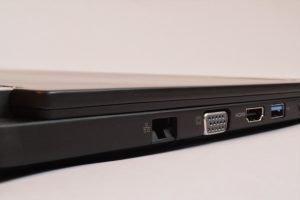 VGA und HDMI Port ein einen Laptop