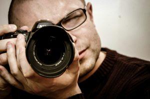 Professioneller Fotografe